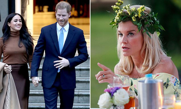 American-born Viscountess and former Ladies of London star sympathizes with Meghan and Harry