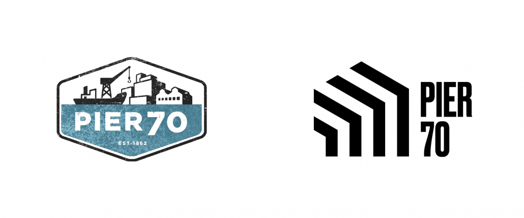 Reviewed: New Logo and Identity for Pier 70 by dn&co