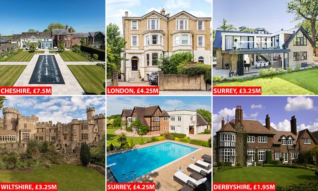 Multi-million pound homes available for virtual viewings during the lockdown