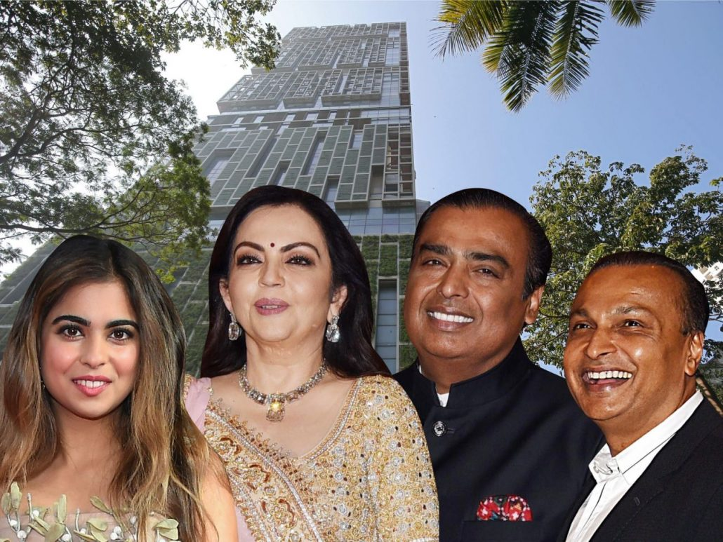 An Indian businessman just became the first Asian member of the world's 10 richest people. Meet the Ambanis, who live in a $1 billion skyscraper and mingle with royals and Bollywood stars.