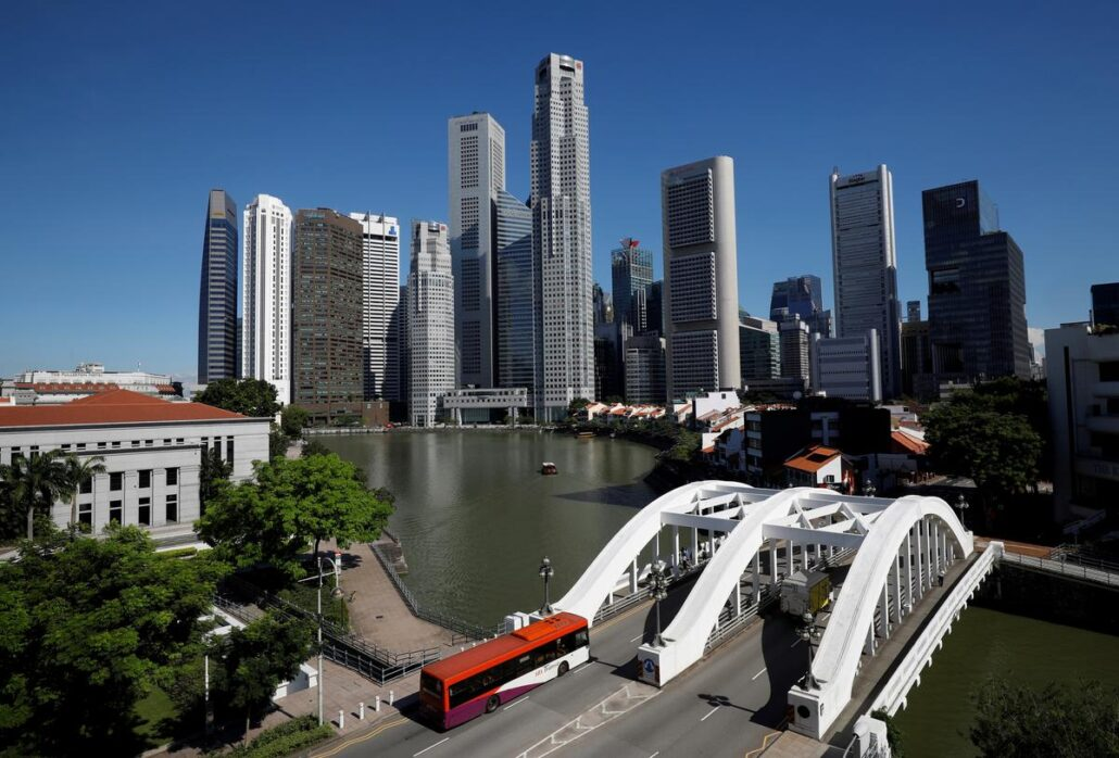 Singapore financial district vulnerable to rising sea levels – CBRE – Reuters UK
