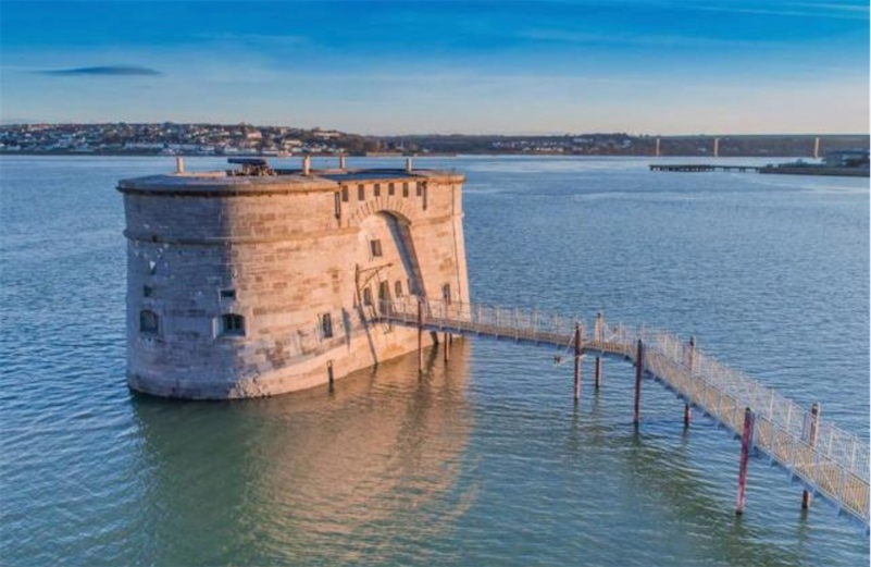 For Sale: Offshore fortress and gun tower built in 1851