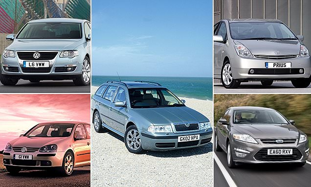 Skoda's Octavia is the UK's most common workhorse car