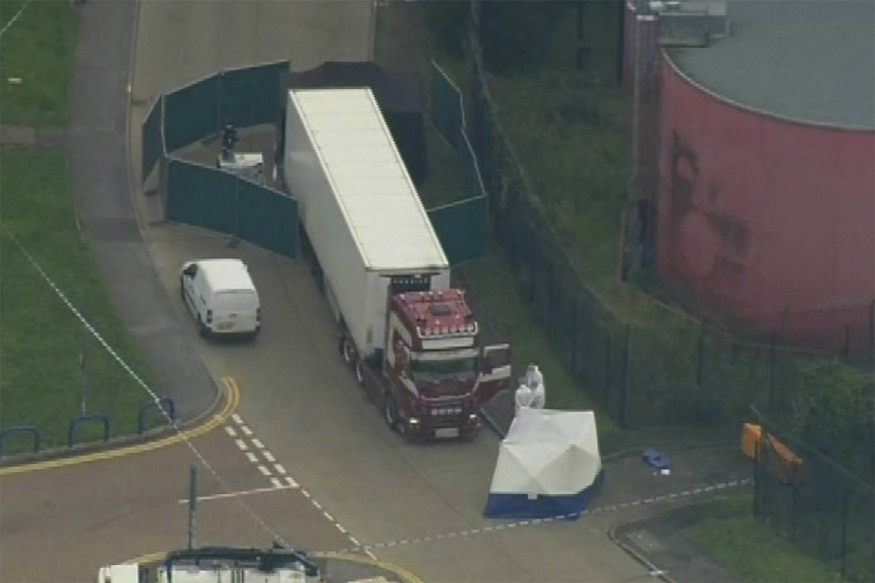 39 Found Dead in Truck Container Near London Were Chinese Nationals, May Have Been 'Frozen to Death' – News18
