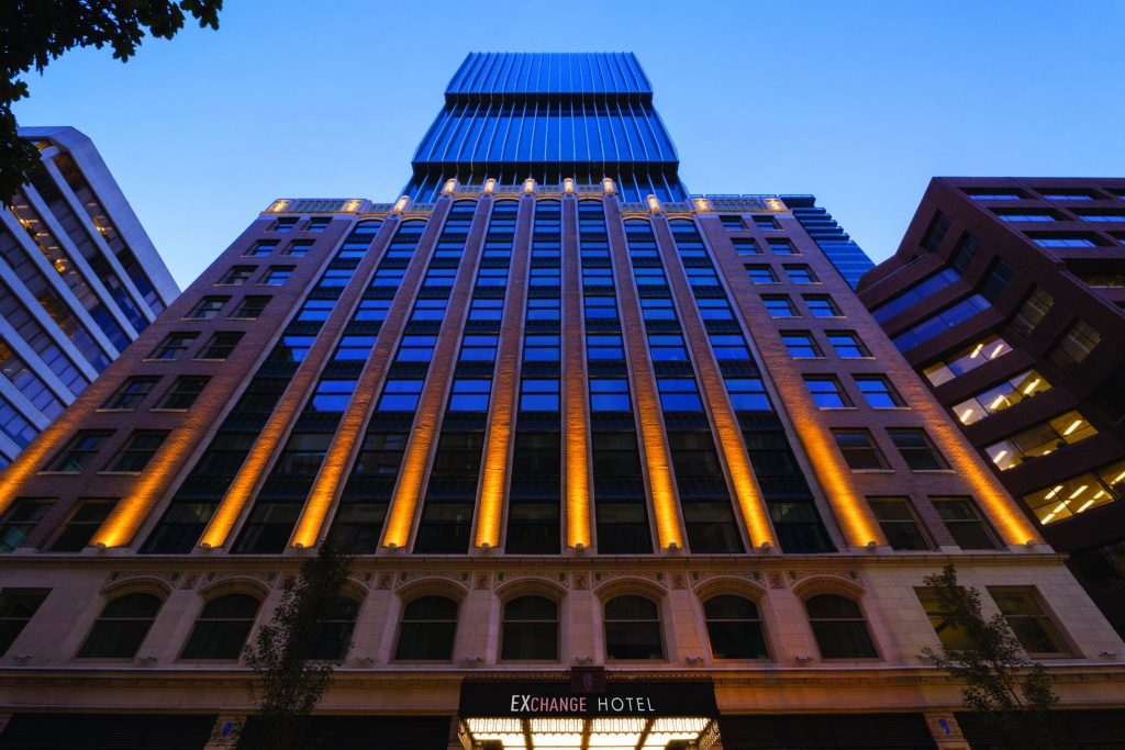 High-End Hotels Opening in Historic Former Stock Exchange Buildings