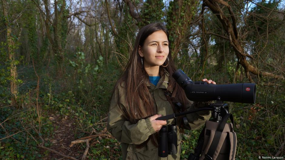 UK's 'Birdgirl' a voice for equality and against racism in conservation