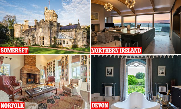 The best UK holiday homes to celebrate the end of the coronavirus pandemic in style